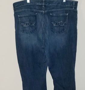 Plus size Curvy Low Rise Jeans from GAP - 20